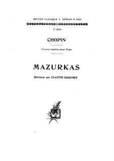 Мазурки (Сборник): No.1-51 by Фредерик Шопен