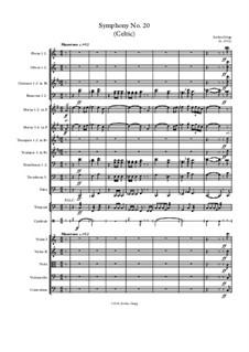 Symphony No.20 (Celtic): Symphony No.20 (Celtic) by Jordan Grigg