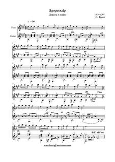 Серенада, Op.13b: Серенада by BOUROFF