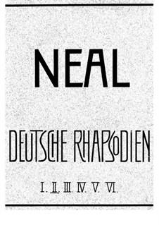 Deutsche Rhapsodien. Symphonische Klavierstücke, Op.38, 47: No.2 Studie by Heinrich Neal
