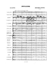 Пьесы для оркестра, Op.51: Brésilienne by Бенжамин Годар