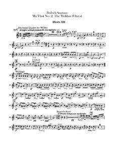 Влтава, T.111: Horns III-IV parts by Бедржих Сметана