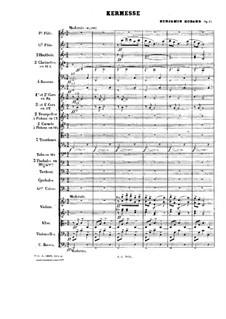 Пьесы для оркестра, Op.51: Kermesse by Бенжамин Годар