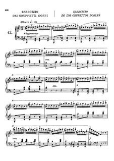 Искусство беглости пальцев, Op.740: Упражнения No.42-50 by Карл Черни