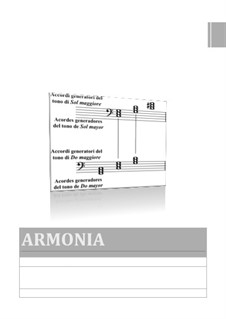 Book of musical harmony in Italian and Spanish: Book of musical harmony in Italian and Spanish by Santino Cara