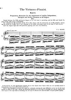 Виртуозный пианис: Часть I by Шарль Луи Ганон