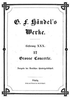 Весь сборник, HWV 319-330: Сборник by Георг Фридрих Гендель
