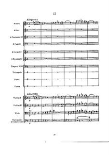 Симфония No.100 соль мажор 'Военная', Hob.I/100: Часть II by Йозеф Гайдн