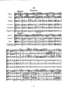 Симфония No.100 соль мажор 'Военная', Hob.I/100: Часть III by Йозеф Гайдн