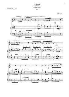 Stabat Mater, RV 621: Amen (A Minor) by Антонио Вивальди