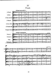 Симфония No.103 ми-бемоль мажор 'С тремоло литавр', Hob.I/103: Часть IV by Йозеф Гайдн