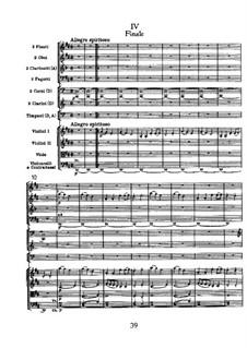 Симфония No.104 ре мажор 'Лондонская', Hob.I/104: Часть IV by Йозеф Гайдн