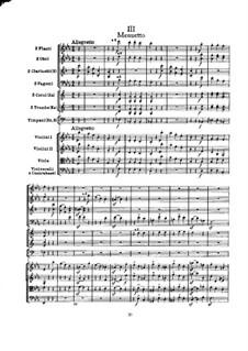 Симфония No.99 ми-бемоль мажор, Hob.I/99: Часть III by Йозеф Гайдн