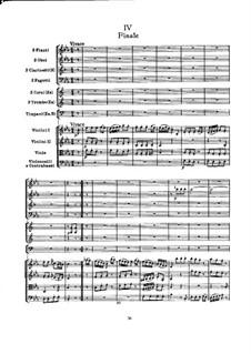 Симфония No.99 ми-бемоль мажор, Hob.I/99: Часть IV by Йозеф Гайдн