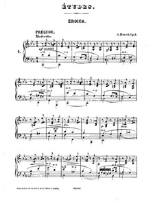 Двенадцать салонных этюдов, Op.5: Сборник by Адольф фон Хенсельт