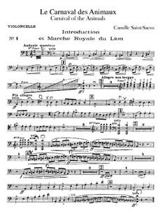Все части: Партия виолончелей by Камиль Сен-Санс