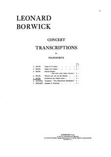 Прелюдия и фуга ми-бемоль мажор, BWV 552: Прелюдия, для фотепиано by Иоганн Себастьян Бах