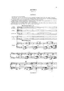 Легенда о святом Кристофе, Op.67: Акт I by Венсан д' Энди