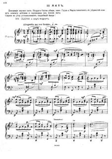 Оле из Нордланда, Op.53: Акт III – клавир с вокальной партией by Михаил Ипполитов-Иванов