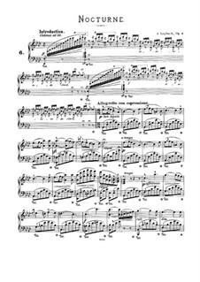 Ноктюрн No.1 ля-бемоль мажор, Op.3: Для фортепиано by Жозеф Лейбах