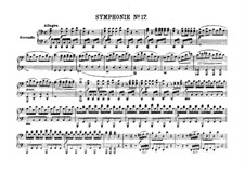 Симфония No.48 до мажор 'Мария Терезия', Hob.I/48: Версия для фортепиано в 4 руки by Йозеф Гайдн