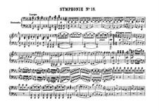 Симфония No.91 ми-бемоль мажор, Hob.I/91: Версия для фортепиано в 4 руки by Йозеф Гайдн