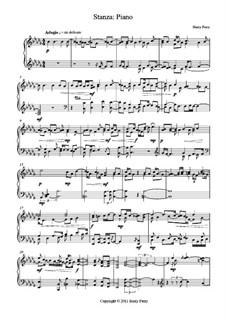 Stanza: Piano: Stanza: Piano by Harry Perry