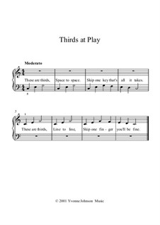 Thirds at Play: Thirds at Play by Yvonne Johnson