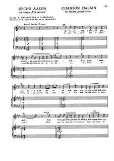 Гризельда: Акт II. Я соловей, для голоса и фортепиано by Жюль Массне