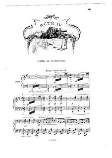 Манон: Акт IV. Переложение для голосов и фортепиано by Жюль Массне