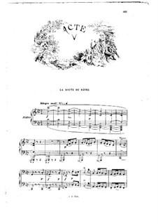 Манон: Акт V. Переложение для голосов и фортепиано by Жюль Массне