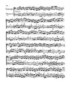 Соната для двух виолончелей No.4 фа мажор: Соната для двух виолончелей No.4 фа мажор by Жан-Батист Массе