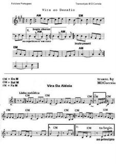 Vira da Aldeia e Desafio: Partituras 2 by folklore