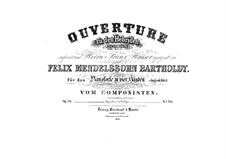 Гибриды или Фингалова пещера, Op.26: Для фортепиано в четыре руки by Феликс Мендельсон-Бартольди