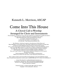 Come Into This House: Come Into This House by Ken Morrison