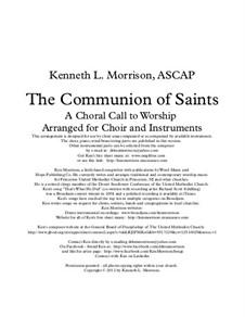 The Communion of Saints: The Communion of Saints by Ken Morrison