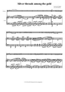 Серебряные нити среди золота: Для кларнета и фортепиано by Харт Пиз Данкс