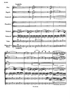 Концерт для фортепиано с оркестром No.11 фа мажор, K.413: Части II-III by Вольфганг Амадей Моцарт