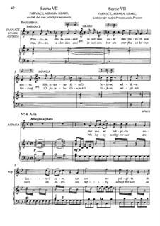 Act I. Scene VII: Для голоса и фортепиано by Вольфганг Амадей Моцарт