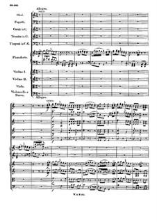Концерт для фортепиано с оркестром No.13 до мажор, K.415: Часть III by Вольфганг Амадей Моцарт
