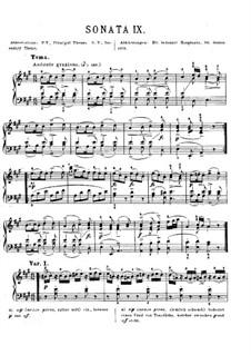 Вся соната: С аппликатурой by Вольфганг Амадей Моцарт