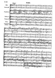 Концерт для фортепиано с оркестром No.6 си-бемоль мажор, K.238: Часть III by Вольфганг Амадей Моцарт