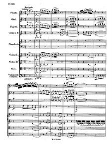 Концерт для фортепиано с оркестром No.25 до мажор, K.503: Часть II by Вольфганг Амадей Моцарт