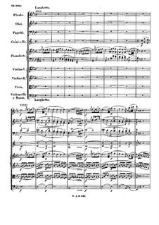 Концерт для фортепиано с оркестром No.27 си-бемоль мажор, K.595: Часть II by Вольфганг Амадей Моцарт
