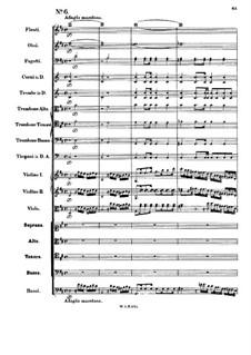 Тамос, король Египта, K.345: No.6 by Вольфганг Амадей Моцарт