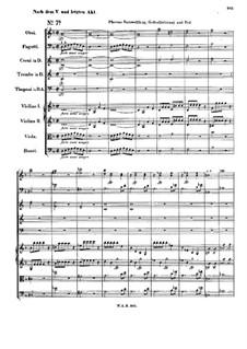 Тамос, король Египта, K.345: No.7 by Вольфганг Амадей Моцарт