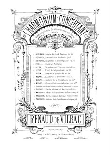 Симфония No.4 ля мажор 'Итальянская', Op.90: Анданте, для фисгармонии и фортепиано – партия фисгармонии by Феликс Мендельсон-Бартольди