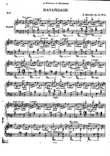 Scènes Intimes, Op.24: No.4 Bavardage by Леопольдо Мигес