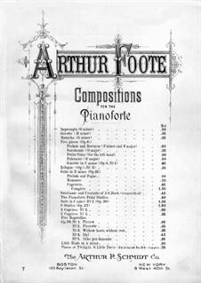Гавот и Эклога, Op.8: No.2 Эклога by Артур Фут