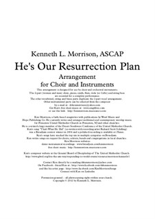 He's Our Resurrection Plan: He's Our Resurrection Plan by Ken Morrison